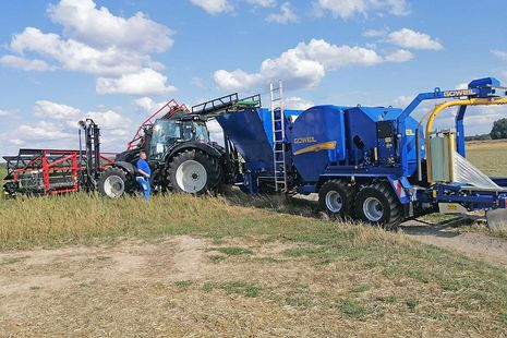 G-1 B5040 Baler-Wrapper Combination
