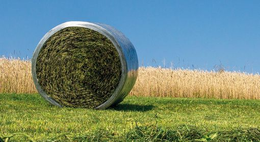Bale silage with wide film is becoming increasingly popular.