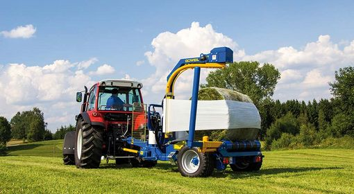 The bale is packed in a clean and perfectly air-tight manner.