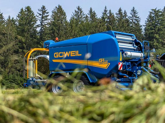 Baler-Wrapper Combination G-1 F125 Kombi