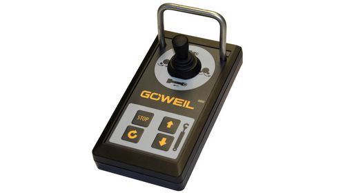 The G1015 wrapper comes standard with the STANDARD program control including joystick.