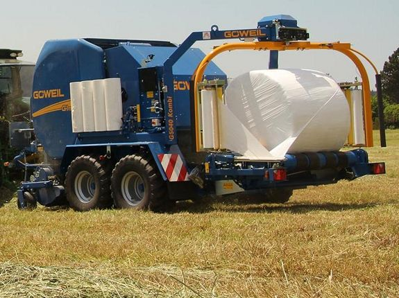 Baleage offers a significantly higher concentration of dry matter and conventional silage