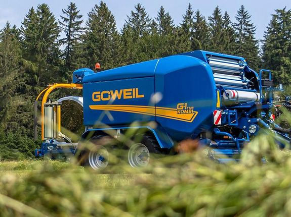 The G-1 F125 Kombi is the perfect machine for large businesses and contract harvesters.