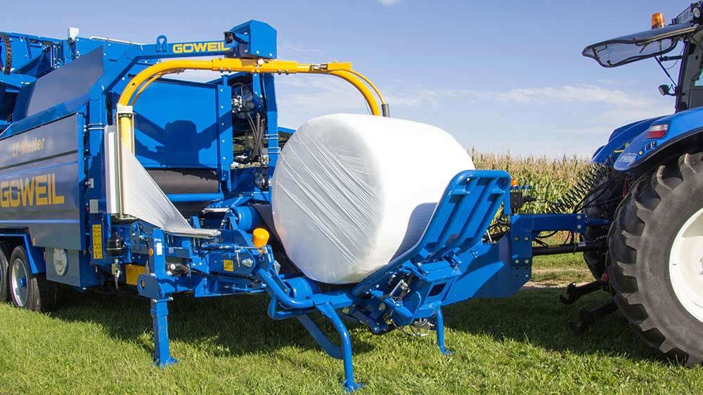 Baler-wrapper combination - maize baler | LT-Master | GÖWEIL